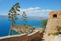 Palamidi, nafplio, Grecia immagine stock