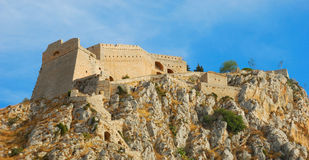 Palamidi , nafplio, greece royalty free stock photography