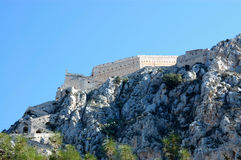 Palamidi , nafplio, greece Royalty Free Stock Photo