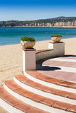 Palamos balcony Royalty Free Stock Image