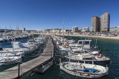 Palamos,Catalonia,Spain Royalty Free Stock Images