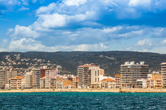 Palamos coast Stock Images