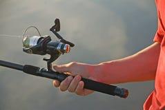 Palan de pêche   Photographie stock libre de droits