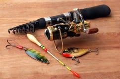 Palan de pêche Photo libre de droits