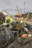 Palan de pêche Photos stock