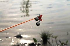 Palan de pêche alarme Images stock