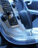 Palanca de la velocidad del automóvil Fotografía de archivo
