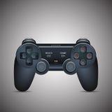Palanca de mando de Gamepad Videoconsola de la palanca de mando Imagen realista ilustración del vector