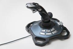 Palanca de mando del juego de Logitech Fotografía de archivo libre de regalías