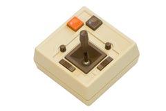 Palanca de mando retra del juego Imágenes de archivo libres de regalías