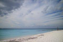 Palancar, Cozumel beach. Stock Photos