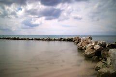 Palancar, praia de Cozumel fotografia de stock