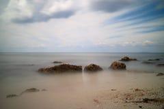 Palancar, spiaggia di Cozumel fotografie stock libere da diritti