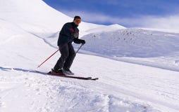 palandoken滑雪 免版税图库摄影