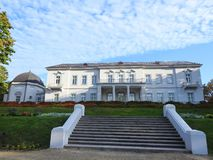 Palanga Amber museum and park , Lithuania royalty free stock photography