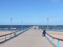 Palanga Baltic sea pear Stock Images