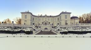 Palanga bärnstensfärgat museum Litauen Arkivbild