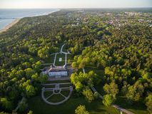 Palanga Amber Museum. Sightseeing Place. Lithuania Stock Photography
