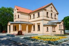 Palanga Kurhaus, gränd av räkningar Tyszkiewicz 1, Palanga, Lithuan Arkivbilder