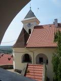 Palankas do castelo em Mukachevo, Ucrânia Fotografia de Stock Royalty Free