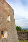 Palanok城堡, Zakarpattya,乌克兰,被建立 免版税库存照片