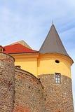 Palanok城堡, Zakarpattya,乌克兰 免版税库存照片