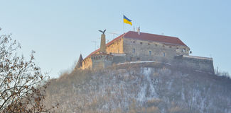 Palanok castle Royalty Free Stock Photography