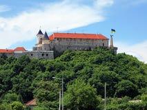 Palanok Castle in Mukacheve, Ukraine Stock Image