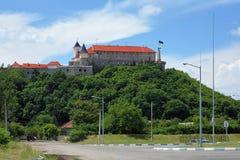 Palanok Castle in Mukacheve, Ukraine Stock Photography