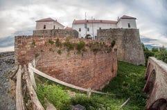 Palanok castle in Mukachevo, Ukraine Royalty Free Stock Photos