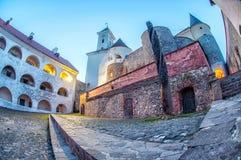 Palanok castle in Mukachevo, Ukraine Stock Image