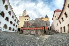 Palanok castle in Mukachevo, Ukraine Royalty Free Stock Image
