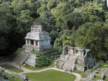 Palanque: alte Mayastadt lizenzfreie stockfotografie