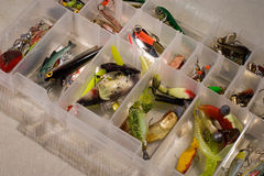 Palans de pêche Photo libre de droits