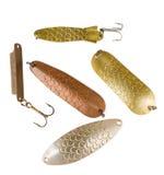 Palans de pêche Photo stock