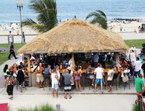 Palapa Bar Royalty Free Stock Images