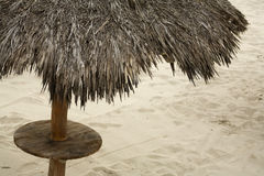 Palapa de Puerto Vallarta Images libres de droits