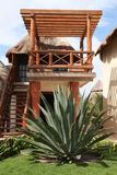 Palapa in Playa del Carmen - Mexico Stock Photography