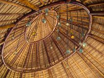 Palapa Roof Royalty Free Stock Photo