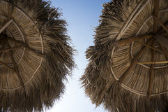 Palapa And Sky Stock Photography