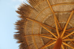 Palapa  sun roof Royalty Free Stock Image