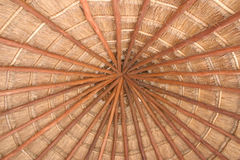 Palapa Thatch Roof Stock Image