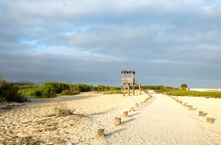 Palapa Viewing Hut - San Jose Del Cabo Estuary north of Cabo San Lucas Baja Mexico Stock Photography