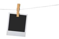 Palaroid velho do frame da foto Imagem de Stock