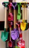 Palas brillantemente coloreadas Fotografía de archivo libre de regalías