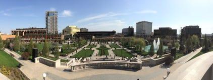Palas komplex i Iasi (Rumänien) Arkivfoto