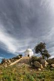 Palasca的半球形的陵墓在可西嘉岛的Balagne地区 库存照片
