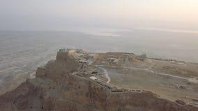 Palase et paysage de Herods derrière la vue du bourdon images libres de droits