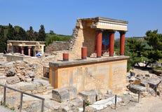 Palase Knoss. Музей Arhaeological под открытым небом. стоковое изображение rf