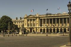Palast auf dem Place de la Concorde Lizenzfreies Stockbild